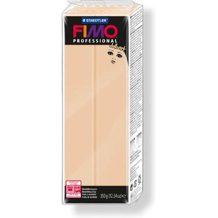 FIMO PROFESSIONAL Modelliermasse doll art, sand, 350 g