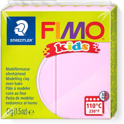FIMO kids Modelliermasse, ofenhärtend, rosa, 42 g
