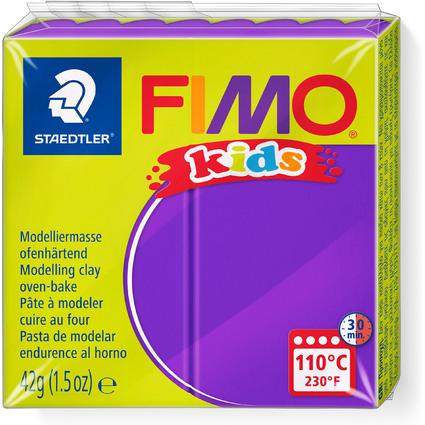 FIMO kids Modelliermasse, ofenhärtend, violett, 42 g