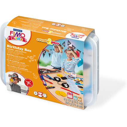 "FIMO kids Modellier-Set Create & Play ""Pirat"", Level 2"