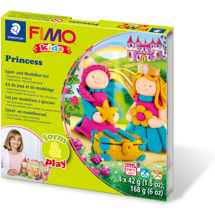"FIMO kids Modellier-Set Form & Play ""Princess"", Level 3"