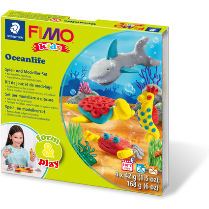 "FIMO kids Modellier-Set Form & Play ""Seaworld"", Level 2"