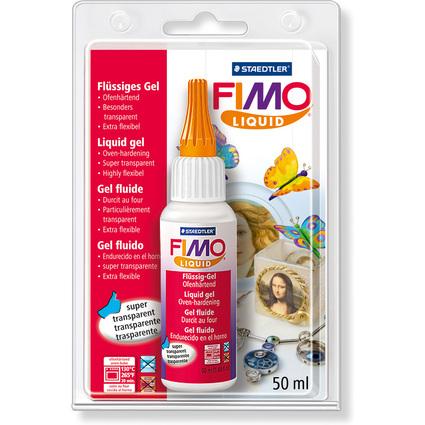 FIMO Deko-Gel Liquid, transparent, ofenhärtend, 50 ml