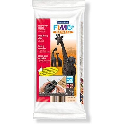 FIMO air NATURAL Modelliermasse, lufthärtend, schiefer, 350g