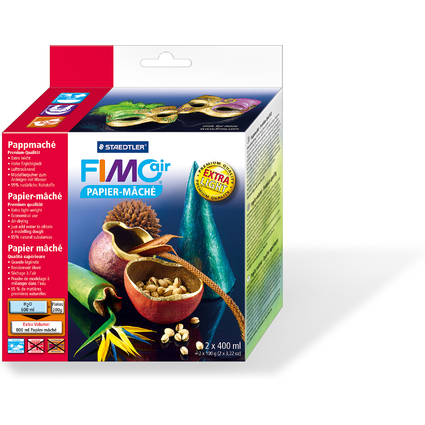 FIMO air Pappmaché, lufttrocknend, 2 x 100 g (200 g)