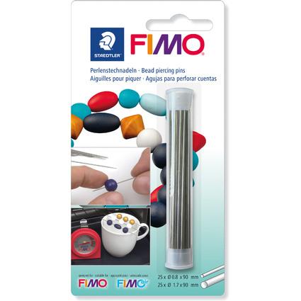 FIMO Perlenstechnadeln, aus Metall