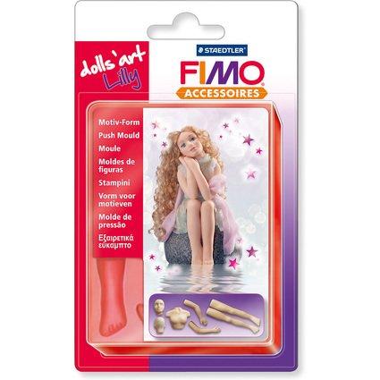 "FIMO Motiv-Form ""Lilly"", 7 Körperteile"