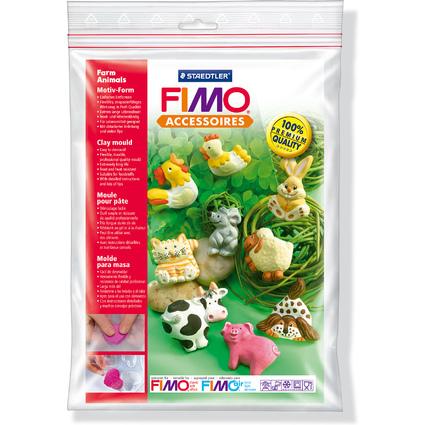 """FIMO Motiv-Form """"Tiere auf dem Bauernhof"""", 9 Motive"""