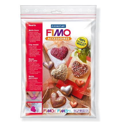"FIMO Motiv-Form ""Herzen"", 8 Motive"