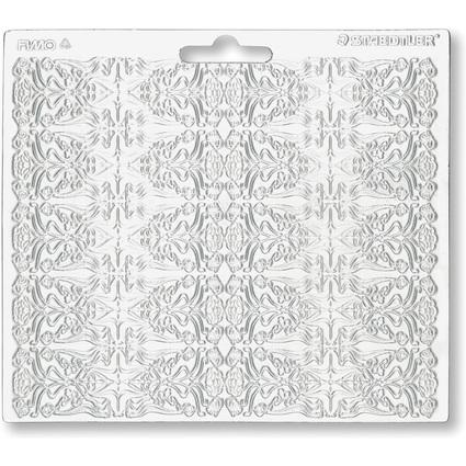"""FIMO Strukturform """"Jugendstil"""", 150 x 168 mm"""