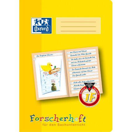 """Oxford Schreiblernheft """"Forscherheft"""", Lineatur: 1F, DIN A4"""