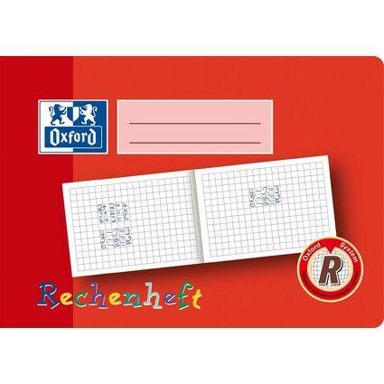 Oxford Rechenheft, DIN A5 quer, Lineatur: R / 10mm kariert