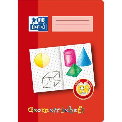 """Oxford Schreiblernheft """"Geometrieheft"""", Lineatur: GR, DIN A4"""