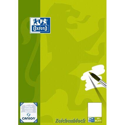 CANSON Zeichenblock, DIN A3, blanko, 120 g/qm