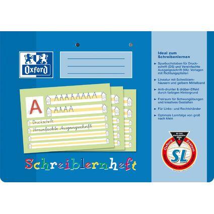 Oxford Schreiblernheft, DIN A4 quer, Lineatur: SL / Bayern