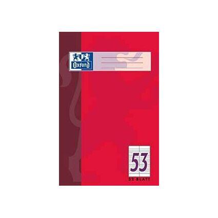 Oxford Vokabelheft, DIN A4, 32 Blatt, 2 Spalten, liniert