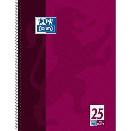 Oxford Collegeblock, DIN A4+, liniert, 80 Blatt
