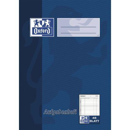 Oxford Aufgabenheft, DIN A5, 48 Blatt, farbig sortiert