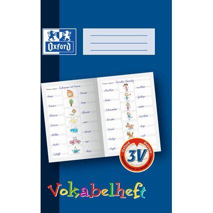 Oxford Vokabelheft, Lineatur: 3V, DIN A4, 16 Blatt