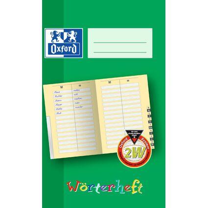 Oxford Wörterheft, Lineatur: 2W, DIN A5, 28 Blatt