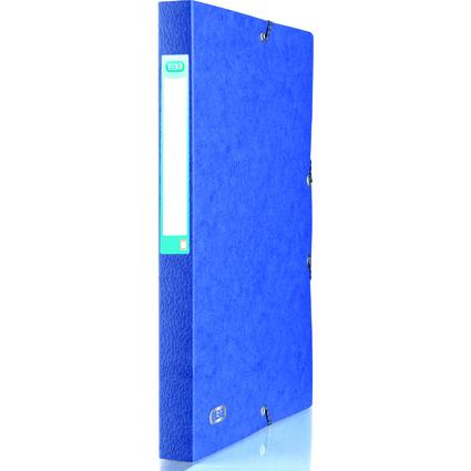 ELBA Sammelbox EUROFOLIO, Rückenbreite: 25 mm, blau