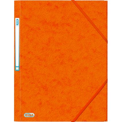 ELBA Eckspannermappe EUROFOLIO, DIN A4, orange