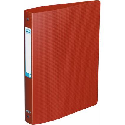 ELBA Ringbuch Memphis, 40 mm, 4 Ring-Reißmechanik, rot