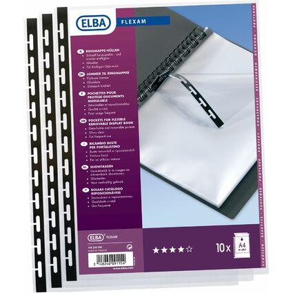 ELBA Sichtbuch-Prospekthülle FLEXAM, DIN A4, PP, glasklar