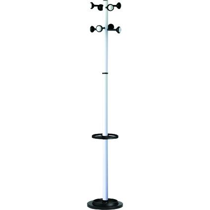 """unilux Garderobenständer """"ACCUEIL"""", Höhe: 1.750 mm, weiß"""