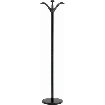 """unilux Garderobenständer """"FLORA"""", Höhe: 1.650 mm, schwarz"""