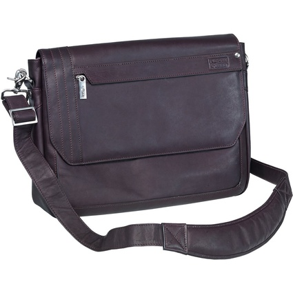 PIERRE by ELBA Urban Line Slim Notebook-Tasche, Leder