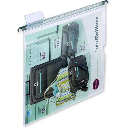 ELBA vertic 1 Hängesichttasche, glasklar, A4, aus PVC