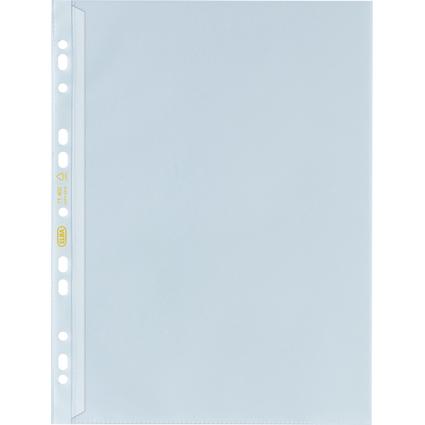 ELBA Prospekthülle mit Verschlusslasche, DIN A4, PP, 0,12 mm