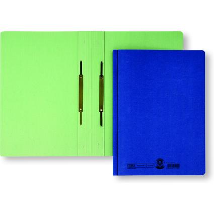 ELBA Doppelhefter, DIN A4, Manilakarton - 320 g/qm, grün