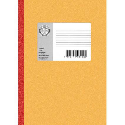 LANDRÉ Notizbuch DIN A5, 72 Blatt, 70 g/qm, liniert