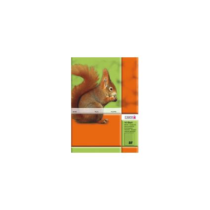 LANDRÉ Schulheft DIN A5, Lineatur 8 / rautiert, 16 Blatt