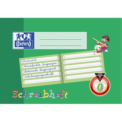 Oxford Schreibheft, DIN A5 quer, Lineatur: 0