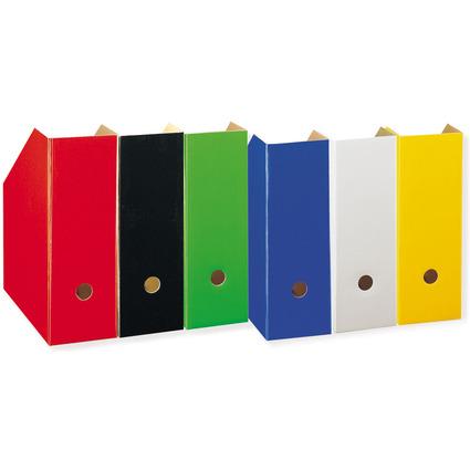 LANDRÉ Stehsammler A4, extra breit, Serie Color, gelb