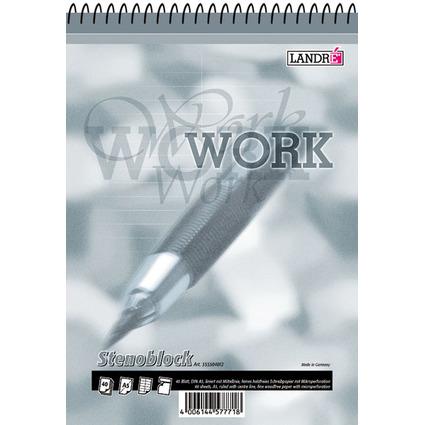 """LANDRÉ Stenoblock """"Office Business Notes"""" A5, 40 Blatt"""