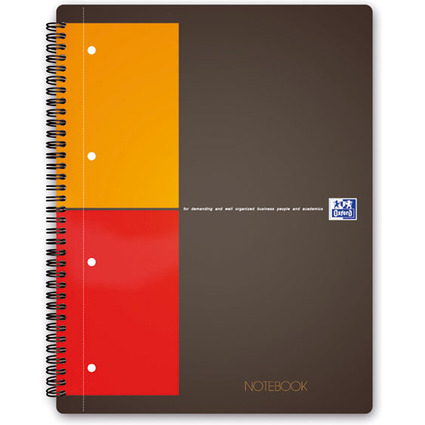 "Oxford International Collegeblock ""NOTEBOOK"", kariert"