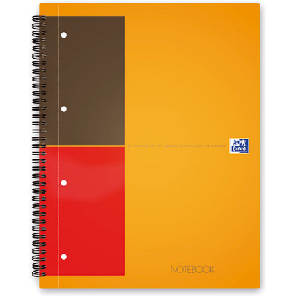 "Oxford International Collegeblock ""NOTEBOOK"", liniert"