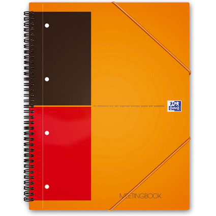 "Oxford International Collegeblock ""MEETINGBOOK"", liniert"