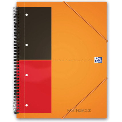"Oxford International Collegeblock ""MEETINGBOOK"", liniert, A5"