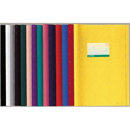 LANDRE Heftschoner DIN A4, geprägt (Bast), hellgrün, aus PP