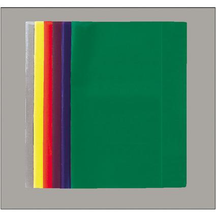 LANDRÉ Heftschoner DIN A5, grün-transparent, aus PP