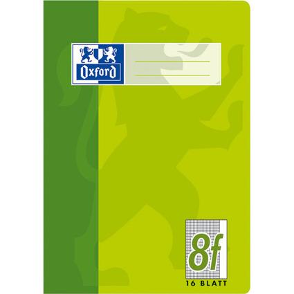 Oxford Schulheft, DIN A5, Lineatur 8f / rautiert, 16 Blatt