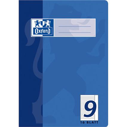 Oxford Schulheft, DIN A5, Lineatur 9 / liniert, 16 Blatt