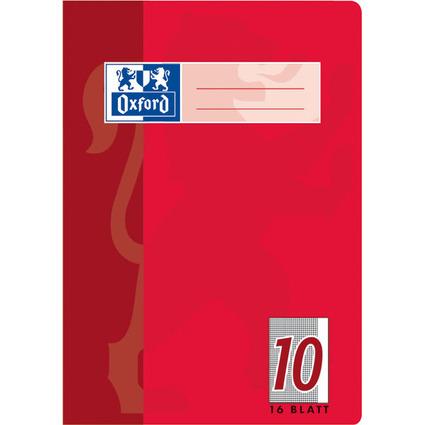 Oxford Schulheft, DIN A5, Lineatur 10 / kariert, 16 Blatt