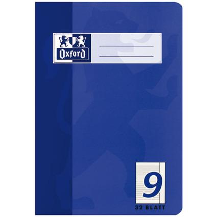 Oxford Schulheft, DIN A5, Lineatur 9 / liniert, 32 Blatt