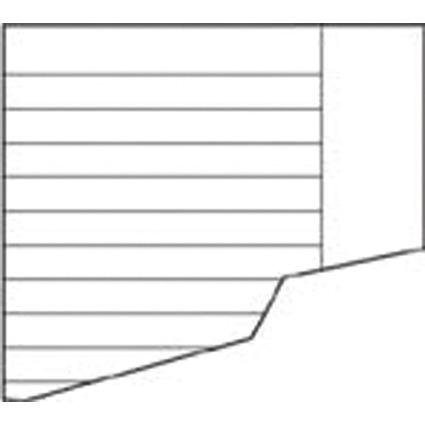 LANDRÉ Aufgabenpapier, DIN A4/DIN A5, liniert, mit Rand